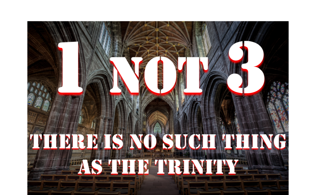 There is no such thing as the Trinity - Apply Wisdom