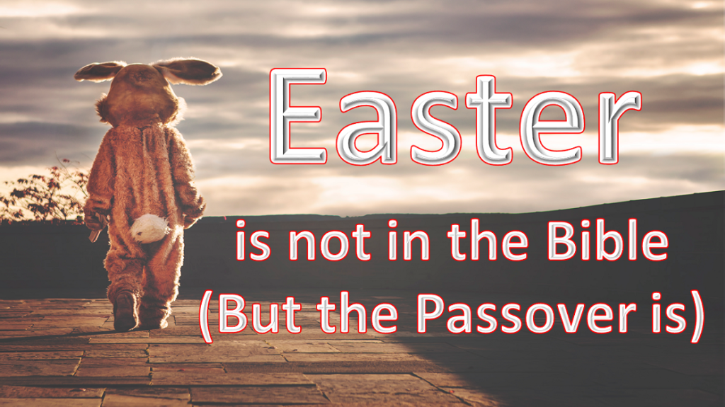 Easter is not in the Bible by Apply Wisdom.com